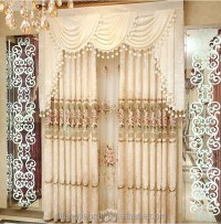 Latest Curtain Designs Luxury Lace Window Curtain Fabrics ...