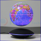 2017 new map globe HCNT levitating 6 inch twinkled earth globe