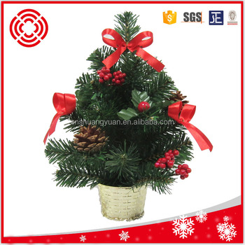 30cm Small mini pvc decorative christmas tree, View mini - small decorated christmas trees
