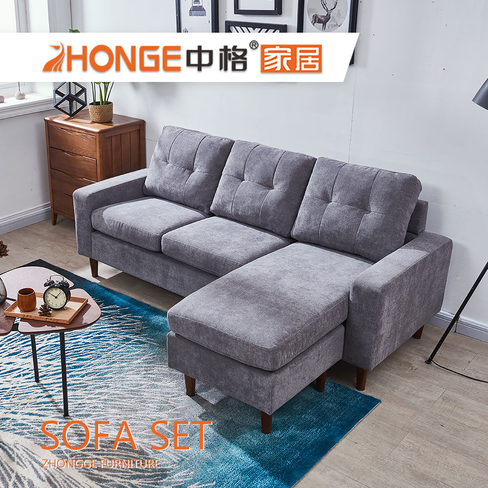 Sala Set L Style Living Room Fabric Cover Corner Style Latest Set L Shaped Wooden Legs Grey Sofa Designs Buy Wooden Legs Fabric Sofa Grey Fabric Sectional Sofa Set L