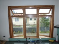 Wood Frame Window Solid Glass Window Wooden Window Design ...