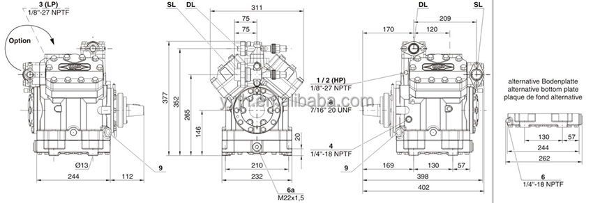 Bitzer Compressor Wiring Diagram Bitzer compressor condensing unit