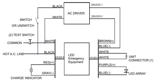 Emergency Light Battery Wiring Diagram Get Free Image About Wiring