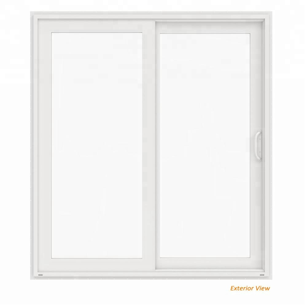 Pintu Sliding Pvc White Pvc U Patio Glass Sliding Doors