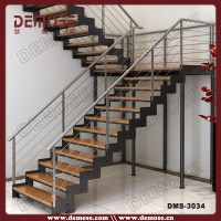 Residential Metal Staircase Design/steel Stairs Details ...
