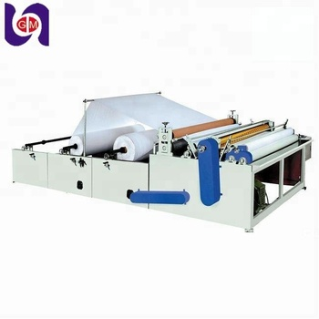 Automatically 1575mm Free Toilet Tissue Paper Rewinding
