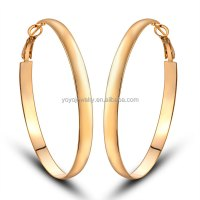 In Bulk Cheap Women's Jewelry Without Stone Gold Hoop ...