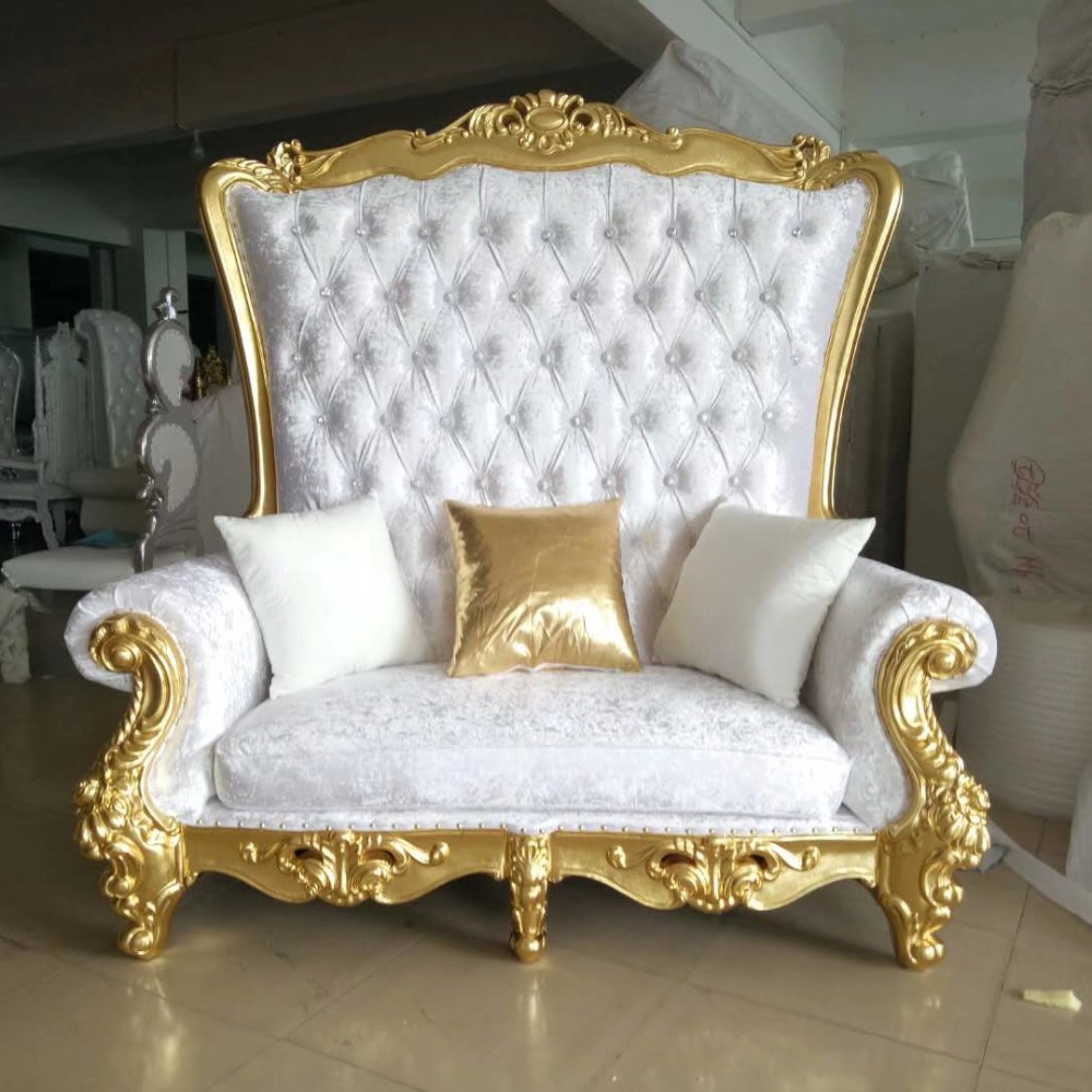 Sofa King Queen Mmd29 Luxury Reception Carved Wooden Leather Fabric King Queen Royal Throne Indian Wedding Mandap Sofa Buy White Wedding Sofa Antique Wedding