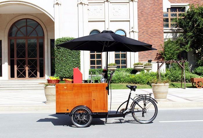 Mobile Coffee Vending Bicycle Mobile Trike Cart