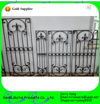 Modern French Wrought Iron Window Grill Design - Buy Iron ...