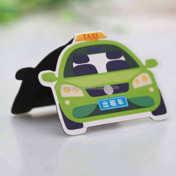 Car Shape Creative Design Printable Elephant Bookmarks For Books