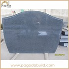 Blank Granite Tombstone Pictures and Grave Monument Slab made of G654 Dark Granite