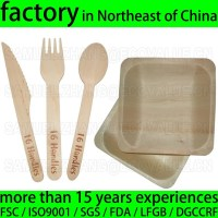 Disposable Wooden Cutlery And Wood Plate - Buy Disposable ...