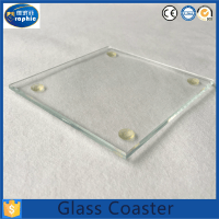 Wholesale Blank Clear Drink Glass Coasters For Gift - Buy ...