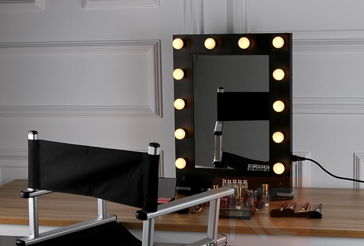 Eclairage Cinema Led Professionnel Hollywood Miroir De Maquillage De Style Avec