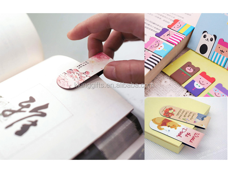 Factory Wholesale Beautiful 3d Anime Bookmarks Printable