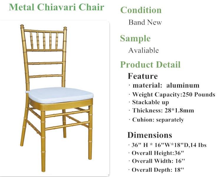 Foshan Gold Chiavari Wholesale Wedding Chairs Buy