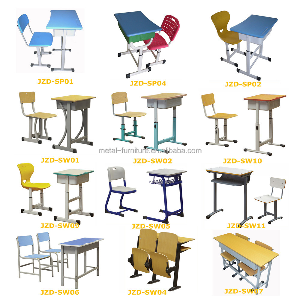 Modern school desk and chair - Download