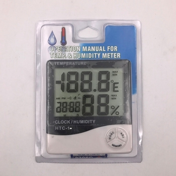 Operation Manual For Temperature Humidity Meter And Clock - Buy