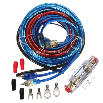 China Power Amplifier Cca 4 Gauge Car Audio Cable Kit Power Amp Kit