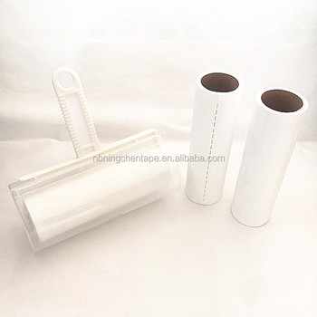 Adhesive Tape Lint Roller Bed Sheet Cleaning Cat Paper Roller - Buy - paper roler