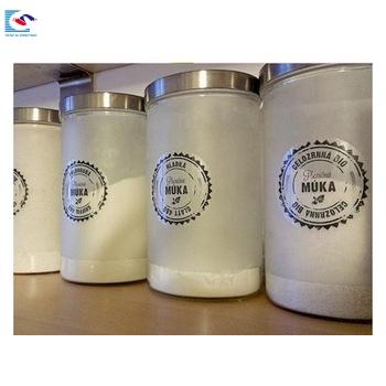 Free Sample Print Custom Plastic Mineral Water Bottle Clear Label