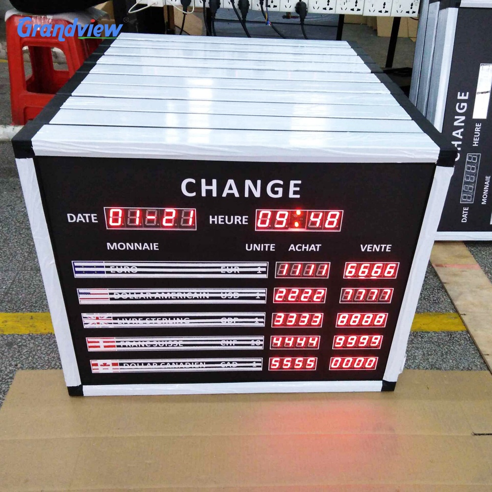 Achat Led Led Digital Display 7 Segment Ir Control Electronic Exchange Rate Board Buy Electronic Exchange Rate Board 7 Segment Ir Control Electronic Exchange