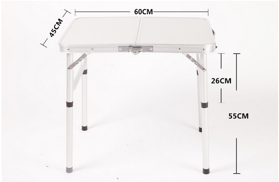 Aluminum Folding Picnic Table/metal Folding Camping Table
