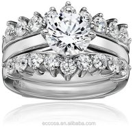 Factory Price Wholesale Silver Ring 925 Silver Platinum ...