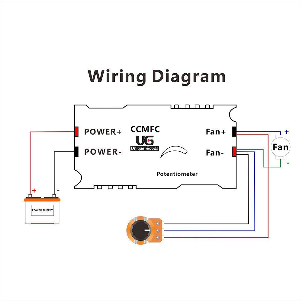 12 volt potentiometer wiring diagram