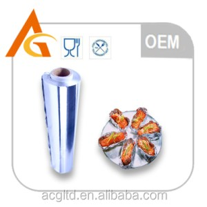 catering food foil widely used for cooking frezzeing storing and baking