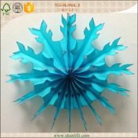 Frozen Theme Party Decoration Cheap Paper Snowflakes