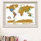 Creative Scratch Map Scratch The World Track Your Travels