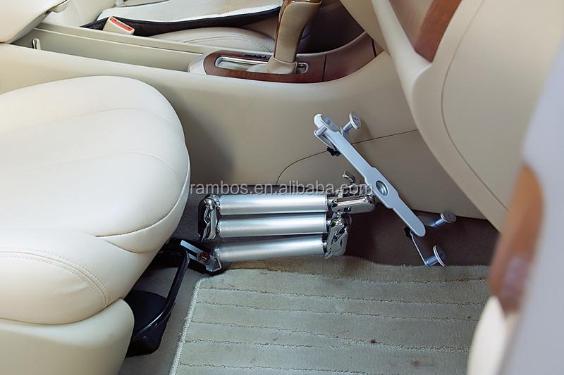 Car Floor Seat Bolt Mount Gooseneck Holder Desk Stand