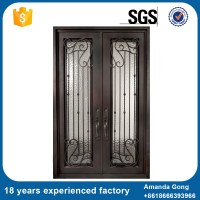 Wrought Iron Interior Door Design French Door - Buy ...