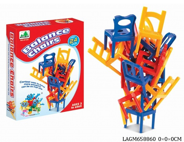 New Toys Stacking Chair Kids Educational Toys Balance