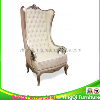 Used White High Back Wedding Reception Chair For Sale - Buy Wedding