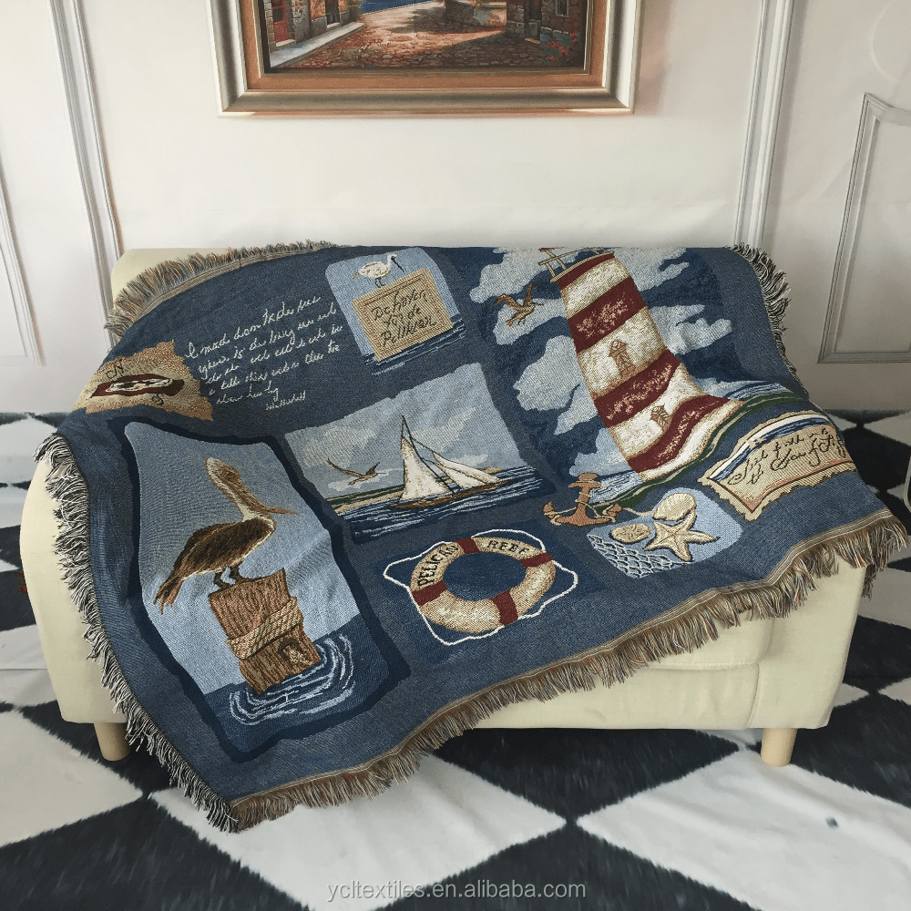 Decorative Sofa Throws Blankets Cotton Tapestry Woven Decorative Thick Sofa Throw Blanket Buy Heavy Throw Blanket Thick Throw Blanket Cotton Knitted Throw Blanket Product On