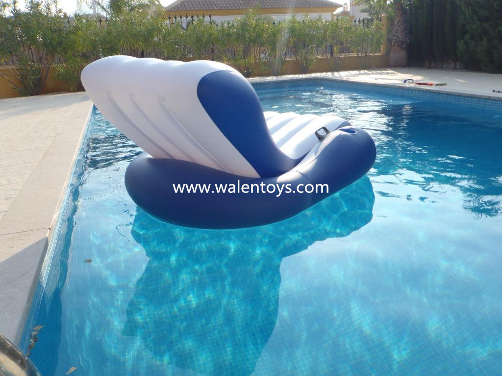 Floating Pool Loungerinflatable Beach Chair Water Raft