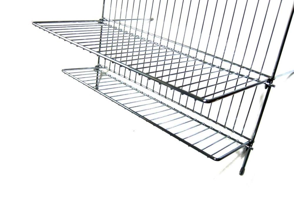 Stainless Steel Commercial Folding Dish Drying Rack Shelf