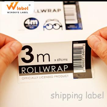 Professional Label Printing Company Making Advertisement Sticker