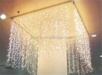 Led weihnachtsbeleuchtung vorhang wasserfall Lichter ...