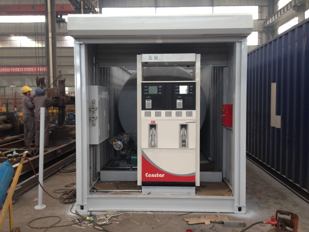 Mobile Gas Fuel Filling Station Container Petrol Station