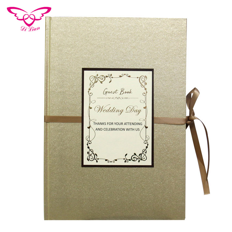 Ready Stock New Design Guest Book - Buy Guest Book,Wedding Guest