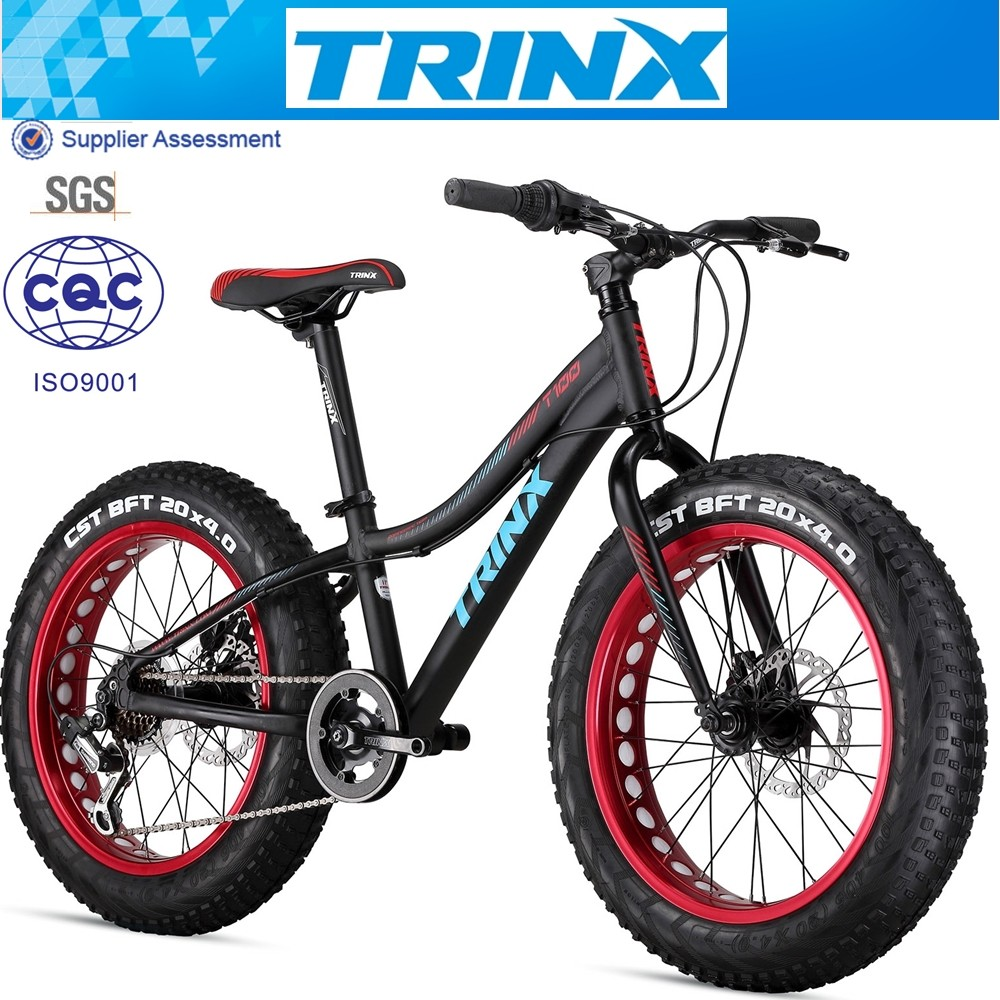 Fat Bike Aluminum Fat Bike For Kids 20 Inch Snow Bike Wholesale Price View Cool Bikes For Kids Trinx Product Details From Guangzhou Trinity Cycles Co Ltd
