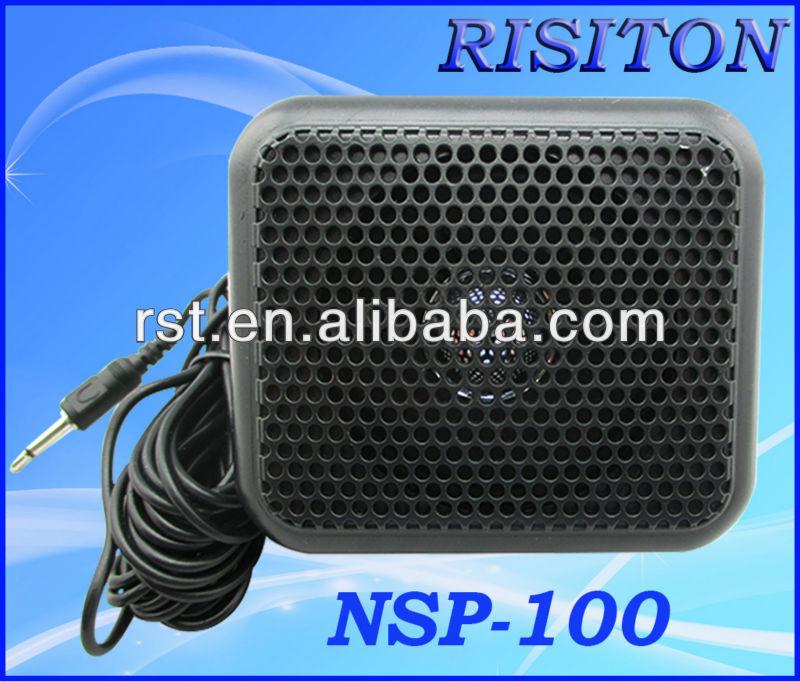 Nsp-100 External Speaker For Car Radio Mobile Radio External Speaker