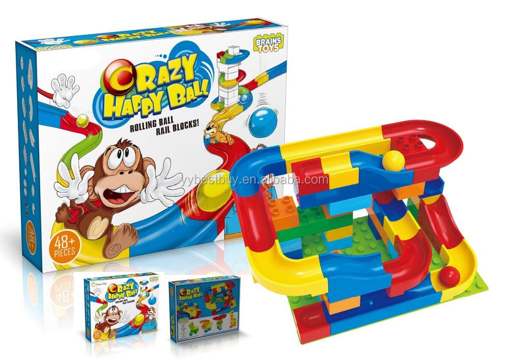 Marble Race Run Game Maze Balls Track Building Blocks