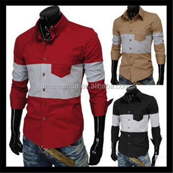 Western Popular Casual Design Factory Wholesale Latest Shirts