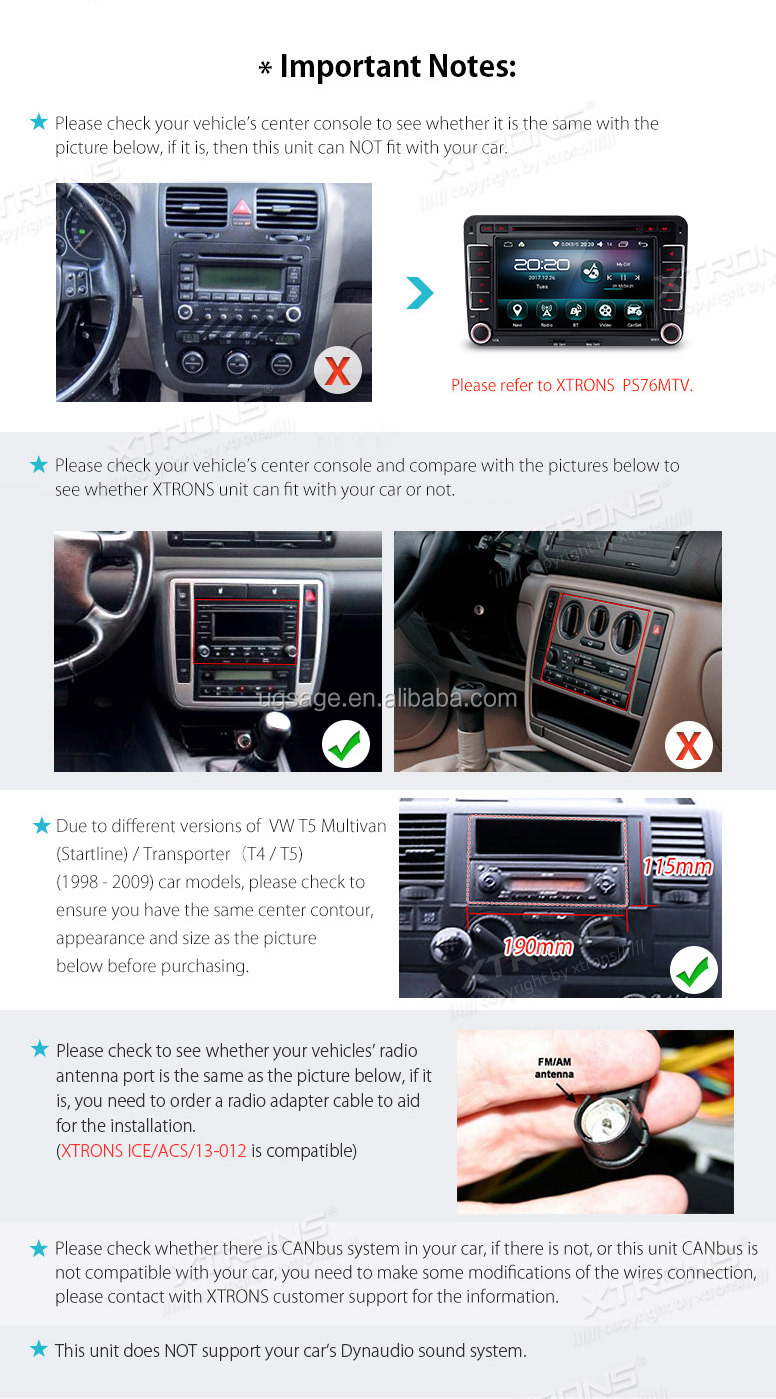 Seat Leon 2 Din Adapter Xtrons 2 Din Touch Screen Android Car Dvd Player For Skoda Fabia Seat Leon Vw T5 With Google Map Dvr Cd Gps View Gps Navigator Xtrons Product