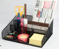 Modern Fancy Metal Mesh Office Desk Organizer